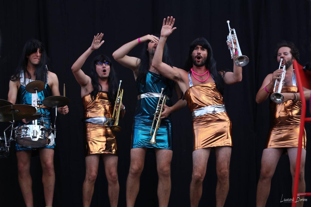 Les Mouettes au 10ème concours de fanfare à Lyon