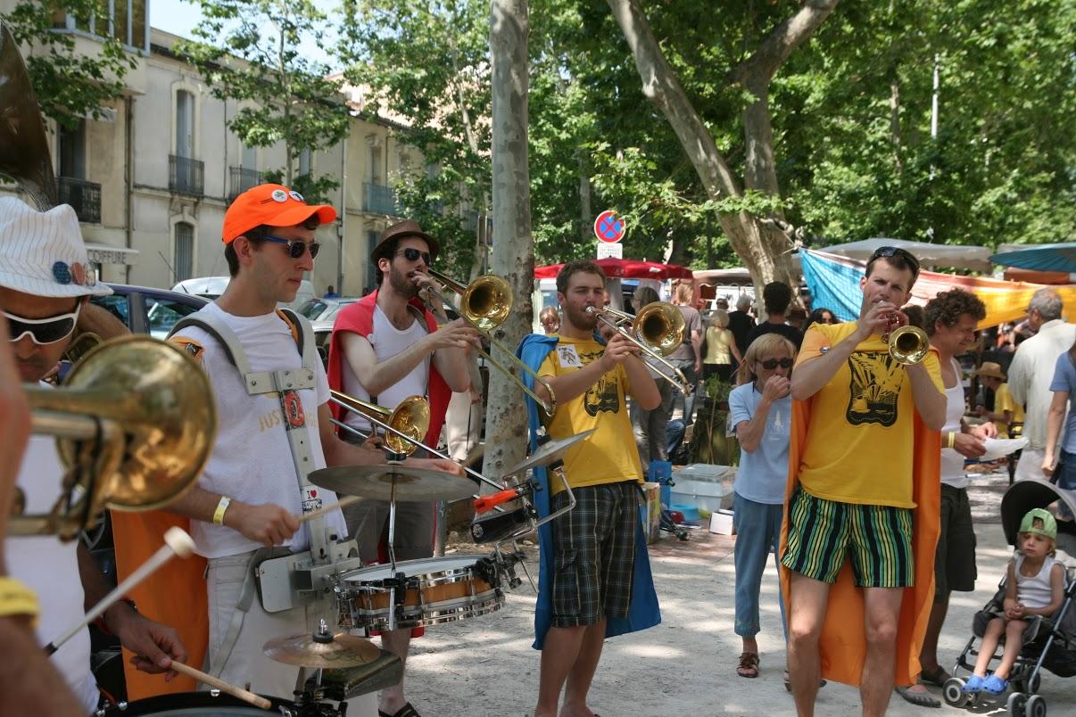 Les Mouette au festival de Montpellier